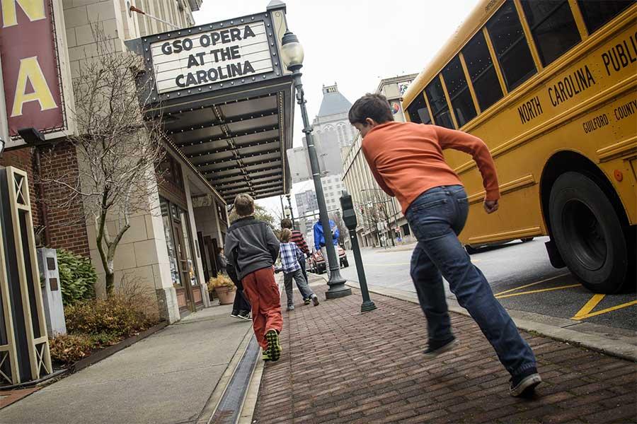 The Cemala Foundation supports Greensboro Opera