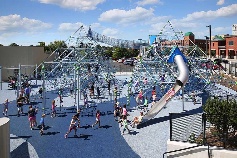 Greensboro Children's Museum Outdoor Plaza